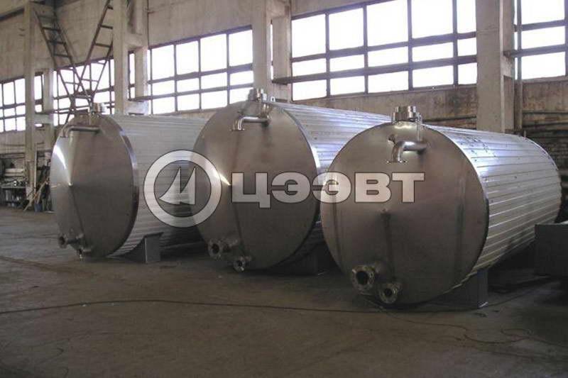 Емкости из нержавеющей стали  для молока. Рис. 4